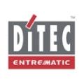 Cổng trượt dùng thanh răng DITEC